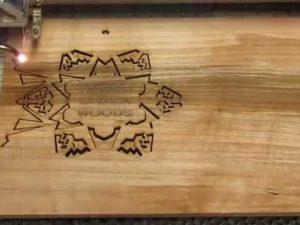 In trên gỗ